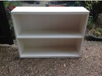 Solid wood painted shelves