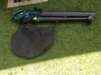 Electric Garden leaf blower and vacuum