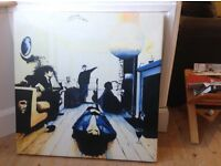 Original oasis painting definitely maybe album cover painting