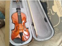 Windsor full size violin 4/4 new in case and box
