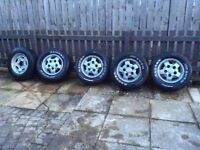 Land Rover discovery 1 alloys