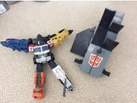 Transformers OPTIMUS PRIME Energon trailer & truck with SOUNDS