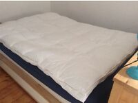 Feather double mattress topper