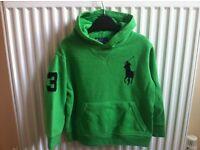 Ralph Lauren green sweatshirt size 3 years