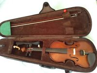 Stentor Student 3/4 violin, case, bow, shoulder rest