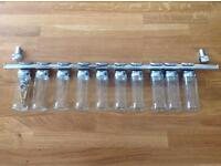 Spice/herd hanging rack - chrome - excellent condition