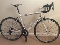 Trek Madone 4.7 carbon road bike 56cm with wheel upgrade