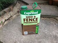 Cuprinol shed and fence preservative - chestnut colour