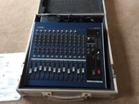 Portable Mixing Desk MG16/4 and Case
