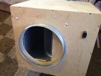 Gecko fan box 12ins 4250m hydroponics