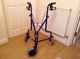 Days Patterson Tri wheel walker