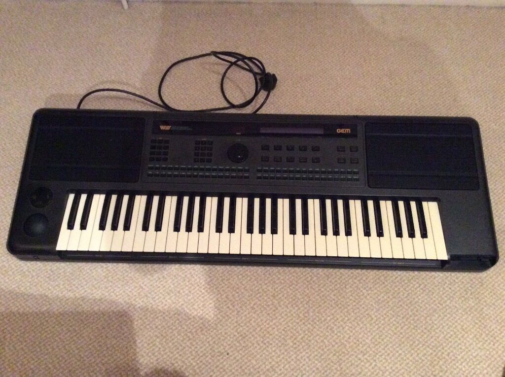 Keyboard Workstation Gem : gem ws2 keyboard 61 full size keys midi workstation in leicester leicestershire gumtree ~ Russianpoet.info Haus und Dekorationen