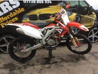 Crf 450 2012 efi full loaded. And lots of bits