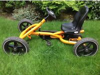 Berg Ride On Kids Buddy Pedal Powered Go Kart - Orange