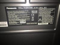 Panasonic plasma tv 50'