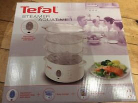 ****Reduced to clear****Tefal 3 their steamer. Christmas present.gift idea.