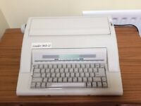Portable Electric Typewriter. LEADER MD11 Nakjima Model AX-160. In EXCELLENT condition.BARGAIN