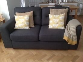 Reduced for quick sale. Zest 3 seat, 2 seat sofa, armchair and storage footstool. Only 4 months old.