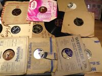 Lot of thirteen 78 rpm records vintage