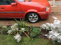 Rover 1400 GSI (Metro Shape) Very low mileage 15,600 in bright red