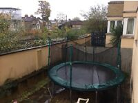 Full Size Trampoline with Safety Net