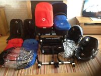 Bugaboo donkey twin Set up including car seats and extras!