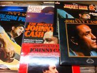 Johnny Cash Albums @ Heart of the Valleys Record Store, Blackwood Indoor Market.