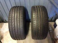 225/ 40 /18 Tyres x 2