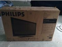 "Philips 42"" flat screen TV"