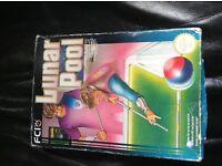 Original Lunar Pool NES Nintendo game