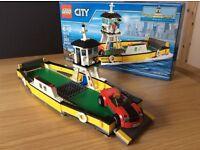 Lego City car ferry - new in box