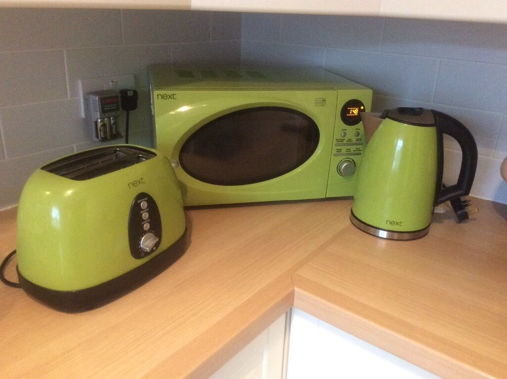 Microwave And Toaster In 1 ~ Next microwave kettle toaster set plus added bin in