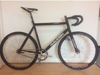 Raleigh Track Bike 58cm with bundle (pursuit bars, cogs, chainrings...)