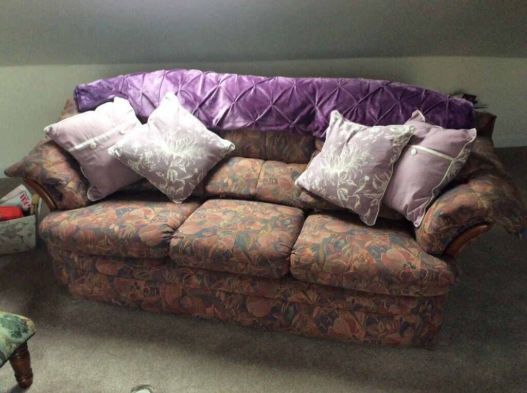 2 & 3 Seater sofas very good condition High backs comfortable Buyer would need to uplift £150