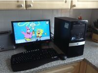Complete desktop PC system with windows 7