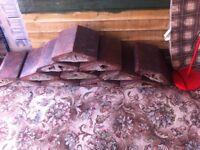 Twelve Victorian Coping Stones