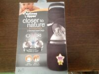 TOMMEE TIPPEE. Two thermal travel bottle bags