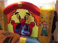 Happy Hop Bouncy Castle max age 10