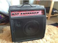 2 Channel rechargeable busking amp.