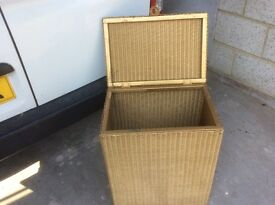 Lloyd Loom Vintage Laundry Basket