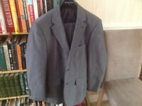 2 men's suits hardly worn both size 38 short