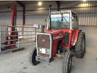 MF 565 tractor. Massey Ferguson