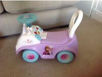 Frozen ride on toy