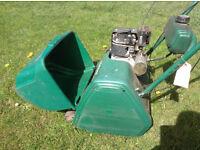 Quailcast petrol cylinder mower