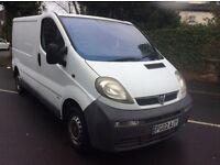 Vauxhall vivaro 2.7 T 1.9 cdti 2002 side loader NO VAT