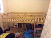 Childs Cabin Bed; already dismantled