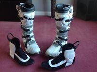 Wulf motocross boots