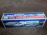Amerada Hess truck and racer boxed