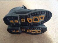 JCB steel toe work boots