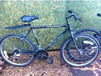 Gents mountain bike, 22 inch wheels